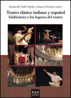 Portada de Teatro Clasico Italiano Y Español