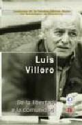Portada de De La Libertad A La Comunidad (2ª Ed.)