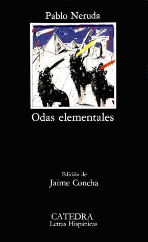 Portada de Odas Elementales (4ª Ed.)