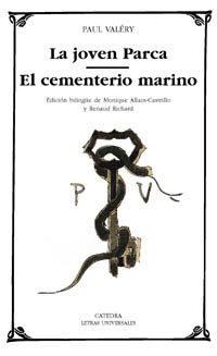 Portada de La Joven Parca; El Cementerio Marino