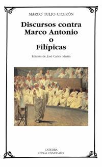 Portada de Discursos Contra Marco Antonio O Filipicas