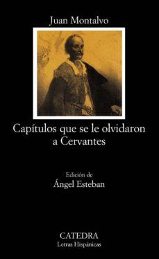 Portada de Capitulos Que Se Le Olvidaron A Cervantes