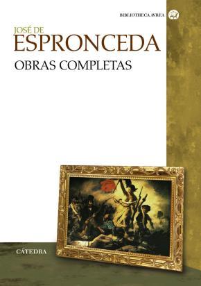 Portada de Jose De Espronceda: Obras Completas