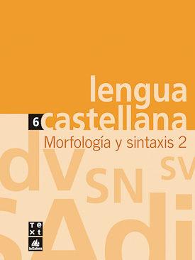 Portada de Lengua Castellana Eso Cuaderno Morfologia Y Sintaxis 2