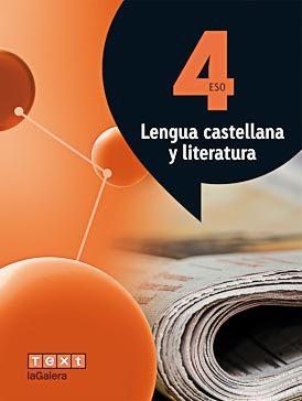 Portada de Lengua Castellana Y Literatura 4º Eso Atomium Catalunya (ed 2016)