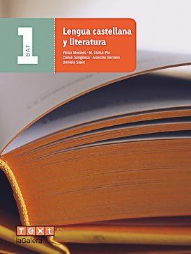 Portada de Lengua Castellana Y Literatura 1º Batxillerat (ed 2016)