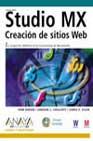 Portada de Studio Mx: Creacion De Sitios Web (incluye Cd-rom)