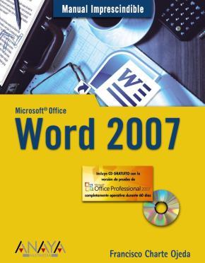 Portada de Word 2007 (manual Imprescindible) (incluye Cd-rom)