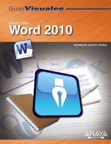 Portada de Word 2010 (guias Visuales)