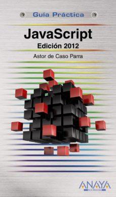 Portada de Javascript. Edicion 2012