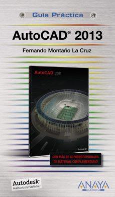 Portada de Autocad 2013 (guias Practicas)