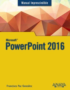 Portada de Powerpoint 2016 (manual Imprescindible)
