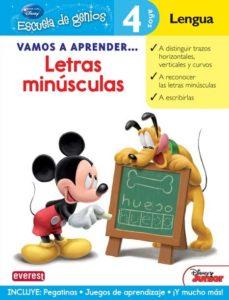 Portada de Vamos A Aprender Letras Minusculas (escuela De Genios)