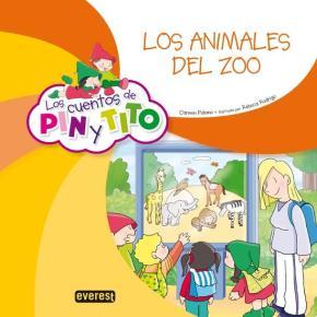 Portada de Los Cuentos De Pin Y Tito: Los Animales Del Zoo