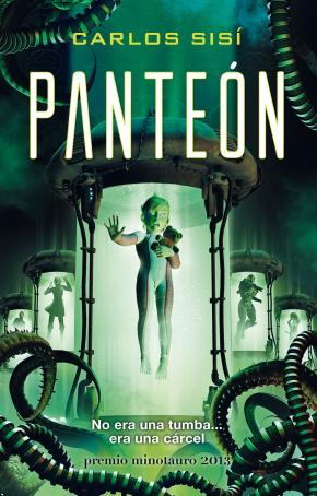 Portada de Panteon (x Premio Minotauro 2013)
