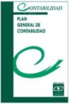 Portada de Plan General De Contabilidad (5ª Ed.)