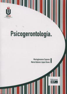 Portada de Psicogerontologia