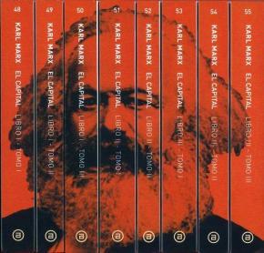 Portada de El Capital (8 Vols.) (Incluye Estudio Prelim.) (2ª Ed.)