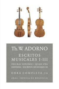 Portada de Escritos Musicales I-iii(obra Completa, 16)