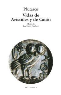 Portada de Vidas De Aristides Y De Caton
