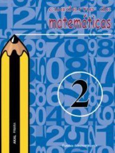 Portada de Cuaderno De Matematicas 2 (primaria)