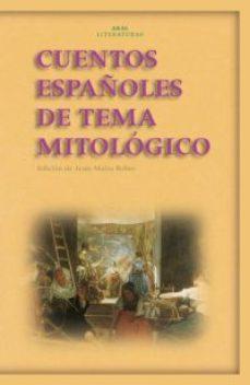 Portada de Cuentos Españoles De Tema Mitologico