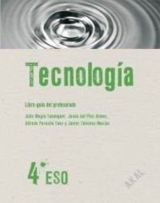 Portada de Tecnologia Guia .profesor + Cd  Eso 4º  Ed 2008