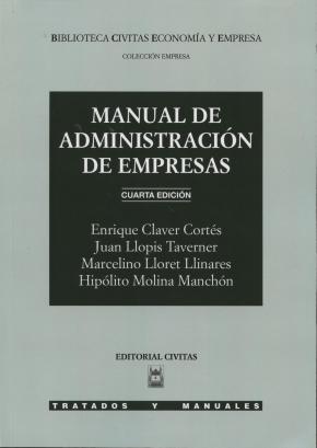 Portada de Manual De Administracion De Empresas (4ª Ed.)