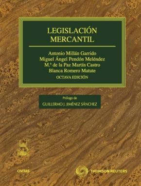 Portada de Legislacion Mercantil (8ª Ed)