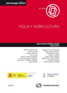 Portada de Agua Y Agricultura