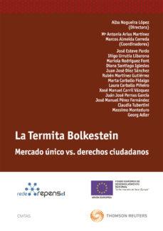 Portada de Termita Bolkestein: Mercado Unico Vs. Derechos Ciudadanos