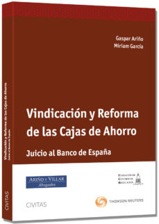 Portada de Vindicacion Y Reforma De Las Cajas De Ahorro
