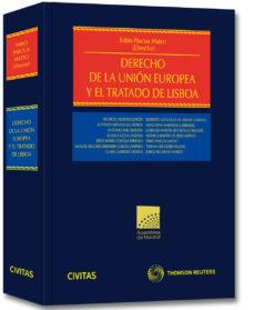 Portada de Derecho De La Union Europea Y El Tratado De Lisboa
