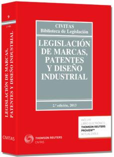 Portada de Legislacion De Marcas, Patentes Y Diseño Industrial (2ª Ed.) (duo )