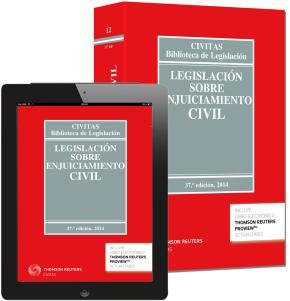 Portada de Legislacion Sobre Enjuiciamiento Civil (37ª Ed.)
