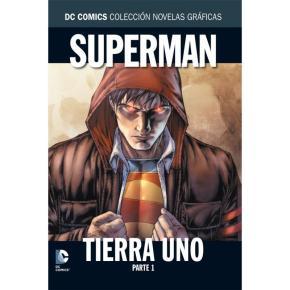 Portada de Superman: Tierra Uno Parte 1