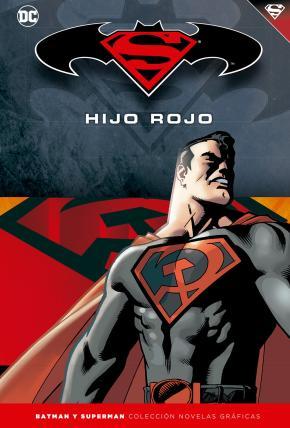 Portada de Batman Y Superman – Coleccion Novelas Graficas: Superman: Hijo Rojo