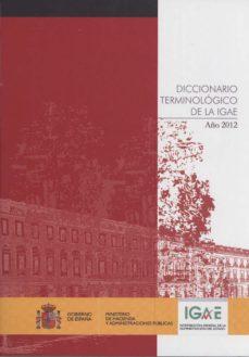 Portada de Diccionario Terminologico De La Igae Año 2012