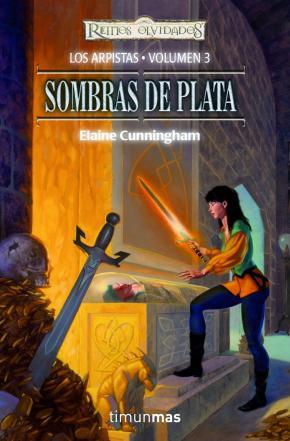 Portada de Sombras De Plata (reinos Olvidados. Los Arpistas Vol. 3)