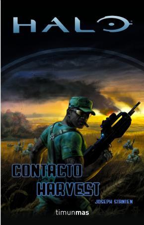 Portada de Contacto Harvest (serie Halo 5)