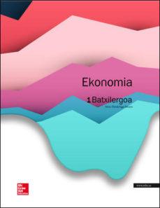 Portada de Economia 1º Bach. Euskera – Incluye Smartbook. Ed.2015