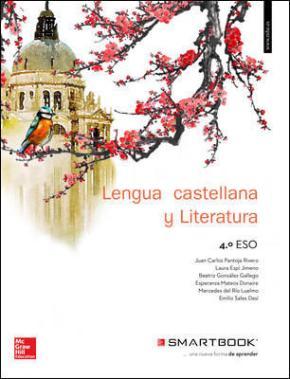 Portada de Lengua Castellana Y Literatura 4º Eso Incluye Guias De Lectura Y Codigo Smartbook (ed 2016)