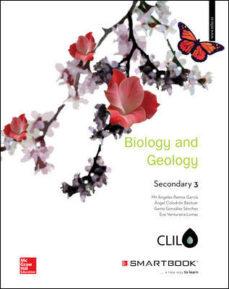 Portada de Biology And Geology 3º Eso Clil Includes Code Smartbook (ed 2016)