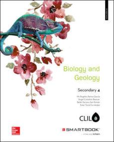 Portada de Biology And Geology 4º Eso Clil Includes Code Smartbook (ed 2016)