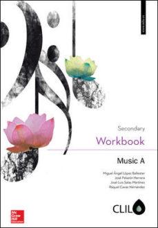 Portada de Music A 1º Eso Clil Workbook (ed 2016)