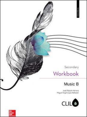 Portada de Music B 2º Y 3º Eso Clil Workbook (ed 2016)