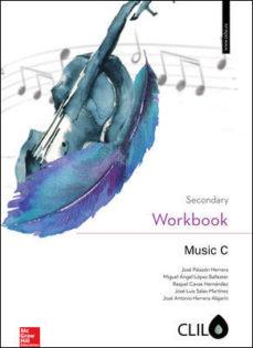 Portada de Music C 4º Eso Clil Workbook (ed 2016)