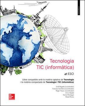 Portada de Tecnologia 4º Eso Catalunya (ed 2016)
