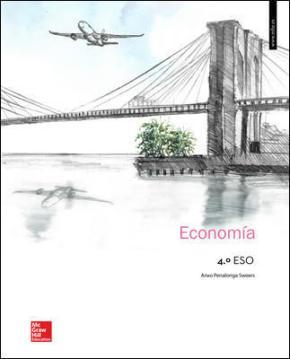 Portada de Economia 4º Eso (ed 2016) Libro Alumno. Andalucia