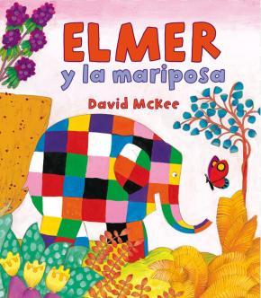 Portada de Elmer Y La Mariposa